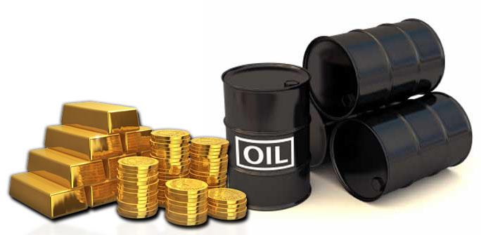 هبوط النفط والذهب - مرآة العرب الإخبارية