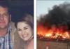 وفاة طيار بعد تحطم طائرته المسروقة في محاولة لقتل زوجته بعد خلاف غاضب