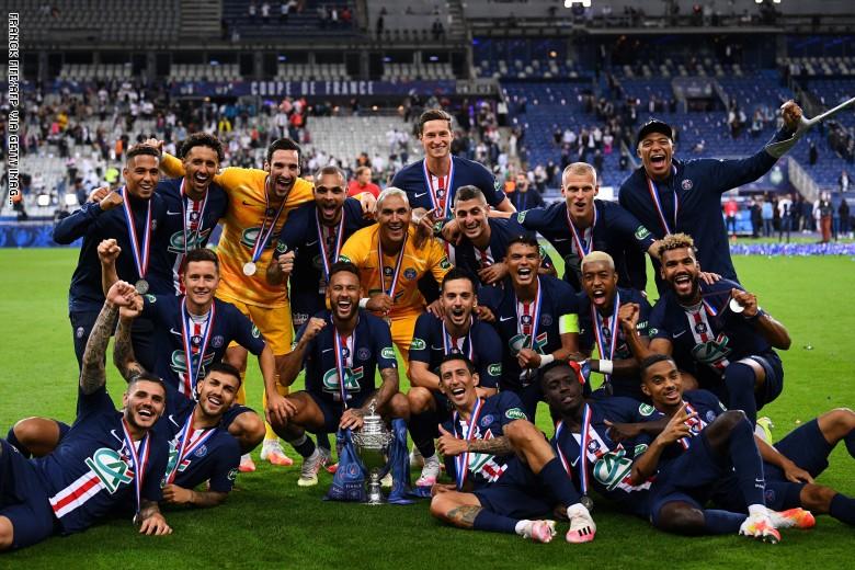 باريس سان جيرمان بطلاً لكأس فرنسا.. وإصابة خطيرة لإمبابي - مرآة العرب  الإخبارية